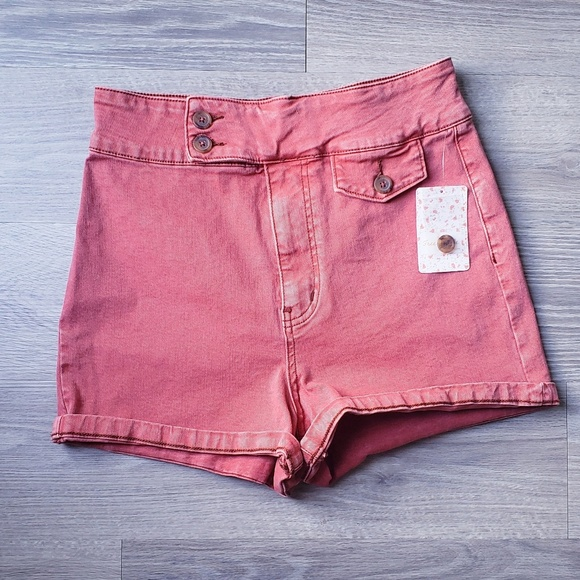 Free People Pants - Free People High Rise Sammi Retro Shorts